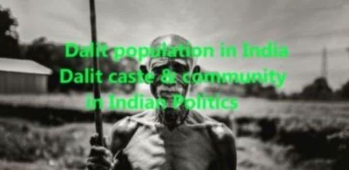 Dalit population